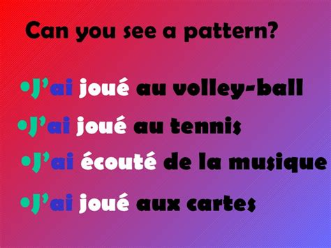 what pattern can you find in a limerick qu est ce que tu as fait hier