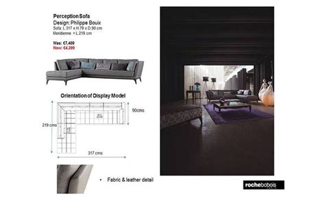 roche bobois perception sofa 7 best sf living with roche bobois images on