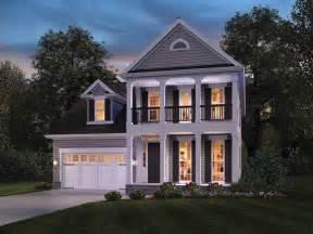 colonial style home plans colonial homes with balconies studio design gallery