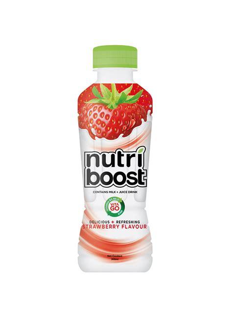 nutriboost strawberry ml klikindomaret