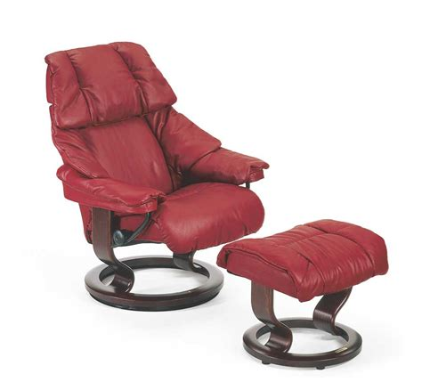 small chair and ottoman stressless by ekornes stressless recliners reno small