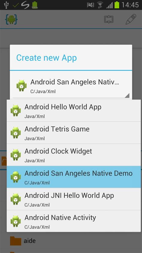 tutorial android ndk windows android ndk tutorial aide android ide