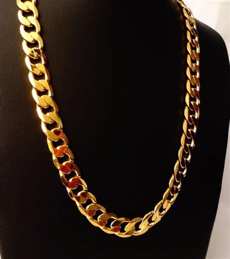 cadena oro 14k cadena barbada de oro macizo 14k 50cm pesa 40grs solid
