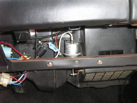 airbag deployment 1984 ford ltd security system engine replacing a heater core mustang forums at stangnet