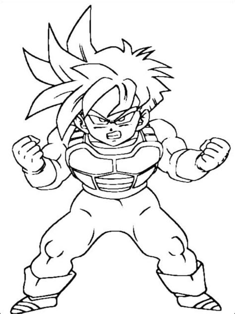 Imprimir Desenhos Dragon Ball Z Para Colorir | Mensagens e