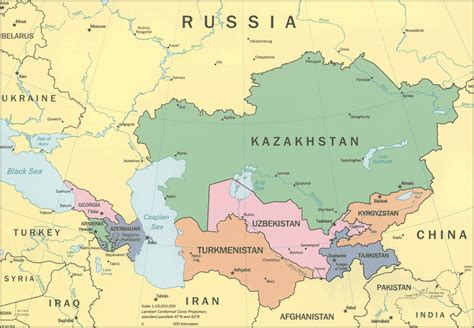 uzbekistan world map usbekistan kapital karte