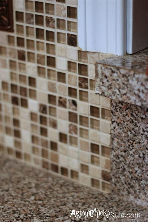 Edging Tiles For Kitchen by Kitchen Tile Backsplash Do It Yourself Artsy Rule 174