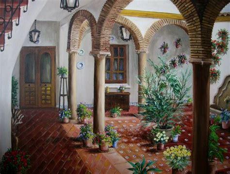 pinturas de patios andaluces im 225 genes arte pinturas rincones andaluces paisajes