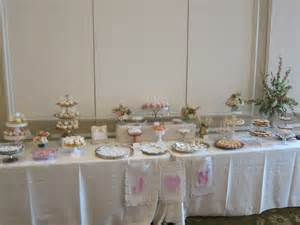vintage bridal shower dessert table sweet
