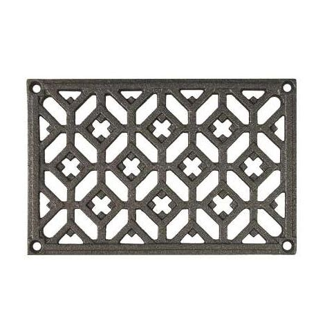 Grille Aeration Cheminee by Grille D A 233 Ration Rectangulaire En Fonte 180 X 120 Mm