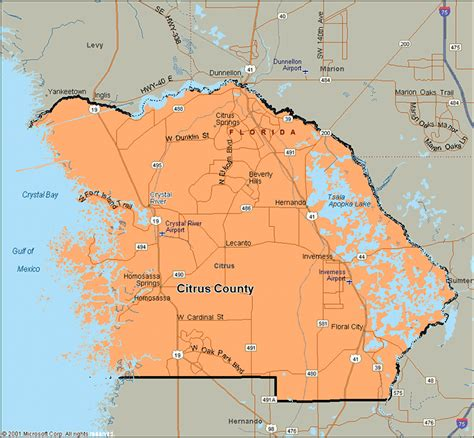 Citrus County Fl Search Citrus County Florida Maps History Weather News Invitations Ideas