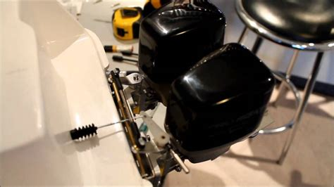 rc boats outboard motors rc boat steering for dual outboard motors youtube