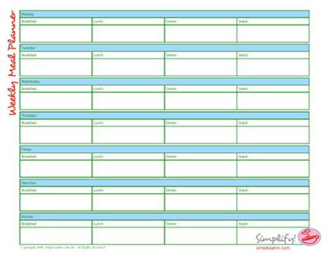 weekly calendar sign up sheet calendar template 2018
