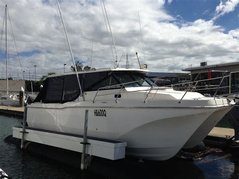 pontoon boats for sale queensland cougar cat 26 power boats boats online for sale