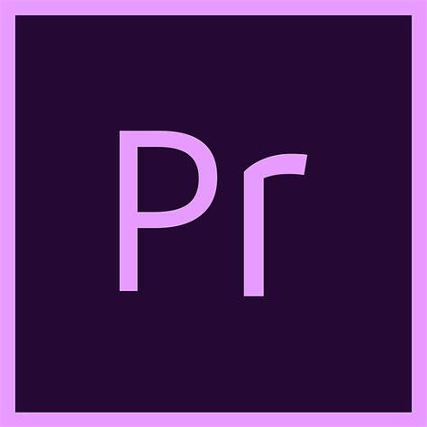 adobe premiere pro zeitlupe kostenlose illustration premiere adobe logo icon