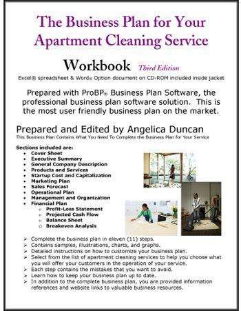 Apartment Cleaning Service Business Plan Pinteres Business Service Template