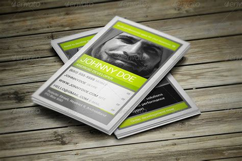 business card templates for android 36 developer business card templates psd designs