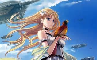 anime with bird 458163