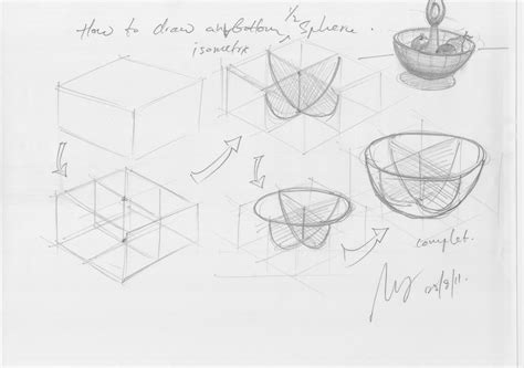 Bottom K Sketches by Isometric Drawing Paper Cake Ideas And Designs