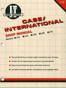 case international tractor repair manual 235 245 255