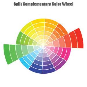 what is blues complementary color split complementary paint color wheel exle uses with