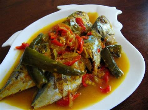 Ikan Kukus Cabe resep dan cara membuat masakan ikan kembung kukus bumbu