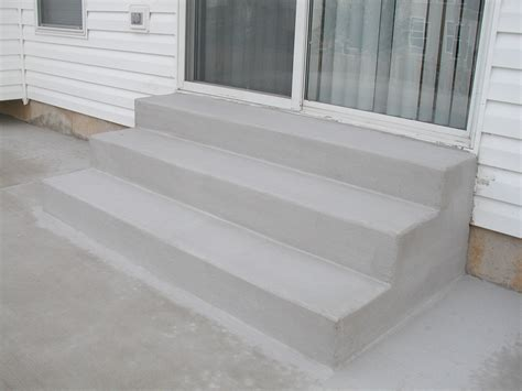 Cement Stairs concrete stoop gallery