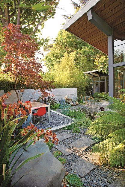 l shaped towhnome courtyards modern gardens in nw ca and bc garden design