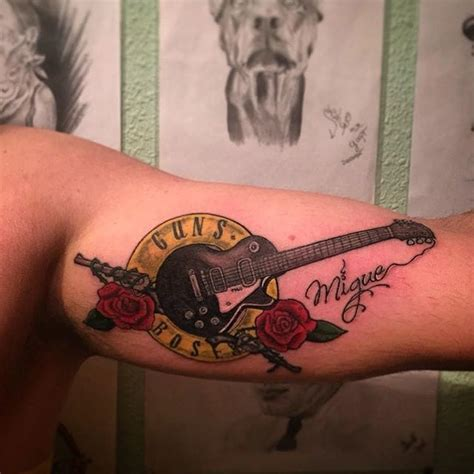 guns n roses band tattoo pictures to pin on pinterest