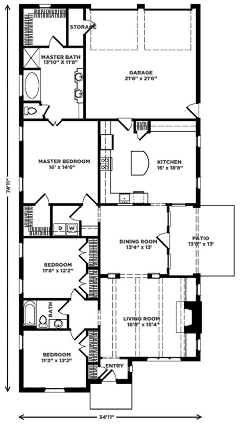 lenox terrace floor plans lenox cottage cottage living southern living house plans