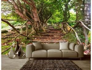 Big Tree Wall Stickers aliexpress com buy customized 3d photo wallpaper 3d wall