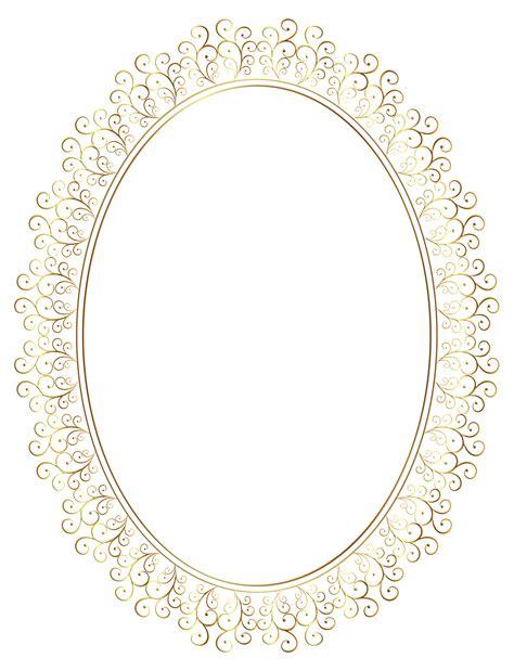 transparent oval frames oval frame transparent clipart