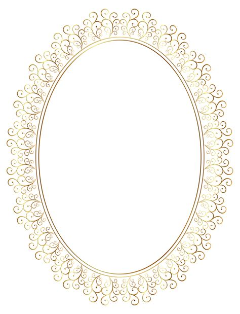transparent oval frames transparent frame clipart clipground