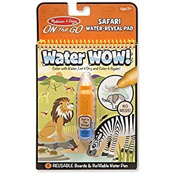Doug Water Wow doug water coloring painting book water wow animal on the go travel