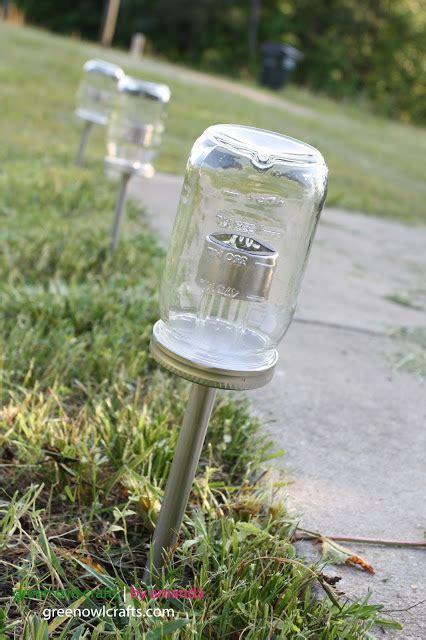 Green Owl Crafts Upcycled Mason Jar Solar Lights Solar Lights For Crafts