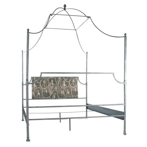 canopy queen bed frame iron metal canopy queen bed frame