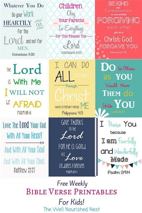printable biblical quotes best 25 kids bible verses ideas on pinterest