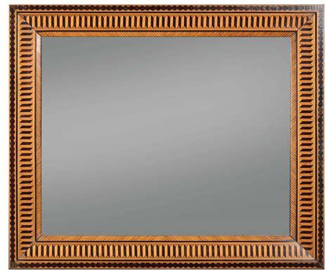 cornici intarsiate coppia di specchiere lastronate ed intarsiate xix secolo