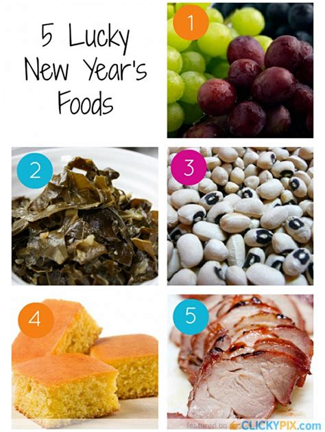 new year luck foods new years day food for luck food