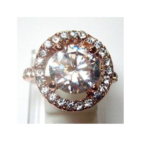 Kotak Cincin Putih Jewellery Box cincin fashion wanita gold 9k filled ring 7us