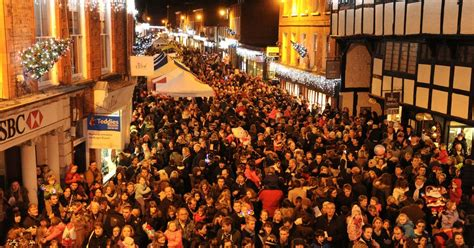 christmas lights switch on events in surrey and hshire