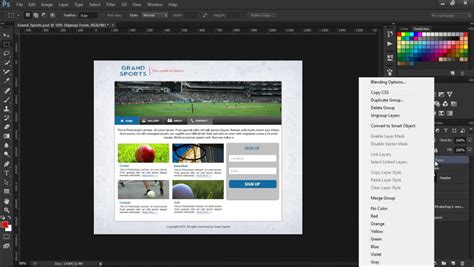website tutorial photoshop cs6 adobe photoshop cs6 for web designers copy css how to