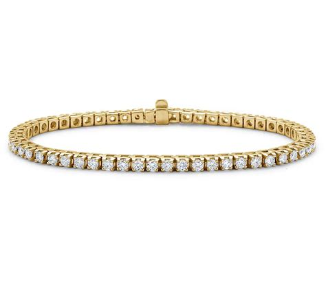 tennis bracelets 3 00 ct solid white gold
