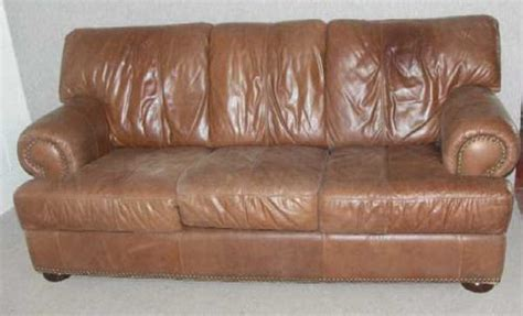Soft Brown Leather Sofa by Antiques Atlas 1960s 3 Seater Soft Brown Leather Sofa