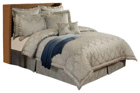 mediterranean comforter sets austin horn en vogue glamour spa 4 piece set