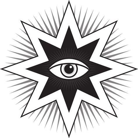 illuminati tattoo png vševidouc 237 oko symbol 183 vektorov 225 grafika zdarma na pixabay