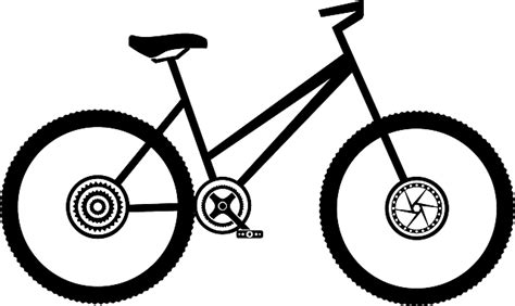 Clip Sepeda Bmx Black bike bike bicycle 183 free vector graphic on pixabay