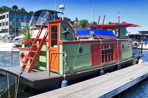 houseboat airbnb seattle seattle houseboat sugarshack sold