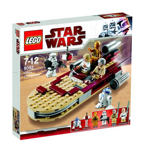 Lego 8092 Wars Lukes Landspeeder wars rebels