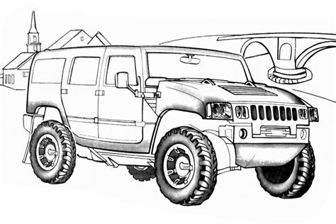 big car coloring page color in your favorit cars coloring page with some bright